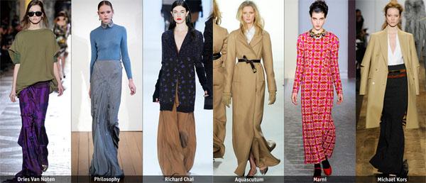 6long - Есен-зима 2010/2011: Основни тенденции според Style.com
