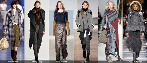 7wraps - Есен-зима 2010/2011: Основни тенденции според Style.com