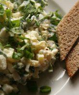 Картофена салата с херинга