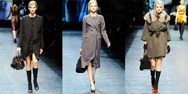 06Dolce Gabbana - Есен-зима 2010/2011: Връхни дрехи - II част