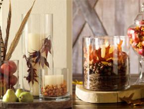 ed01 290x220 - Идеи за есенна украса със стъклени съдове