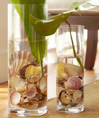 ed04 - Идеи за есенна украса със стъклени съдове