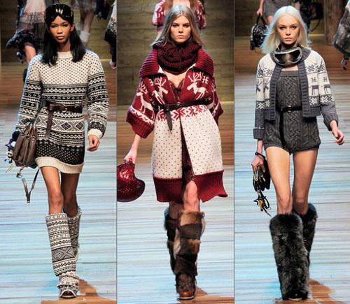01DG - Колекция есен-зима 2010/11 на D&G Dolce & Gabbana