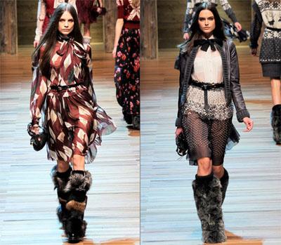 02DG - Колекция есен-зима 2010/11 на D&G Dolce & Gabbana