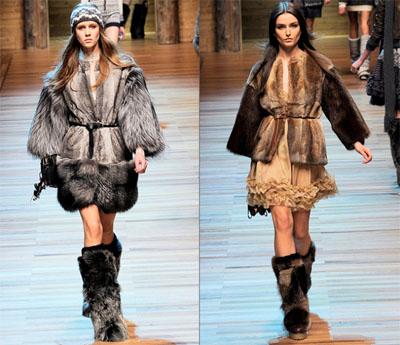 03DG - Колекция есен-зима 2010/11 на D&G Dolce & Gabbana