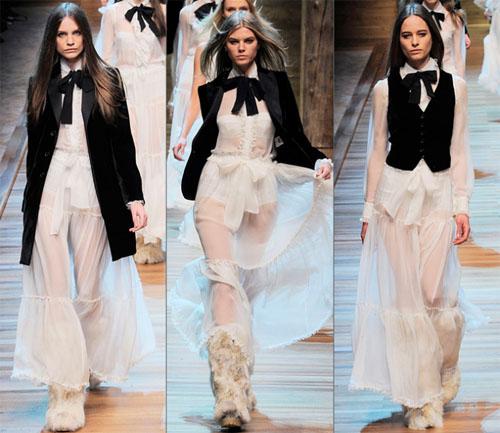 04DG - Колекция есен-зима 2010/11 на D&G Dolce & Gabbana