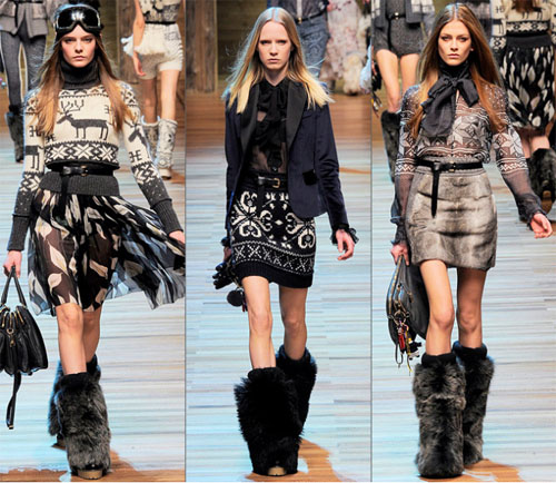 05DG - Колекция есен-зима 2010/11 на D&G Dolce & Gabbana