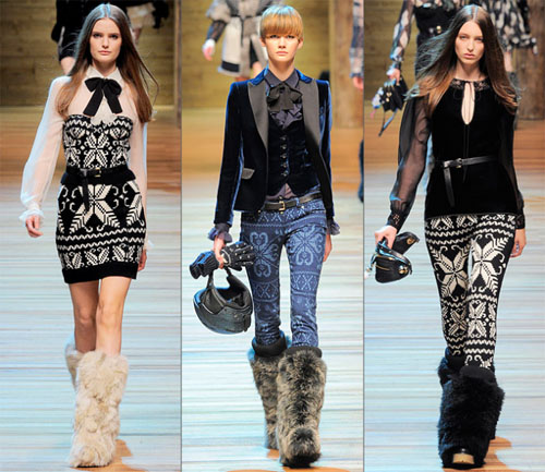 07DG - Колекция есен-зима 2010/11 на D&G Dolce & Gabbana