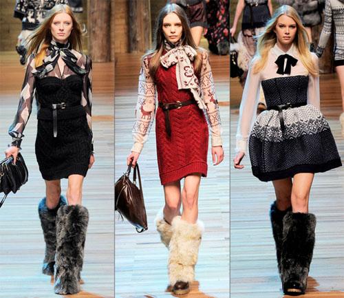 08DG - Колекция есен-зима 2010/11 на D&G Dolce & Gabbana