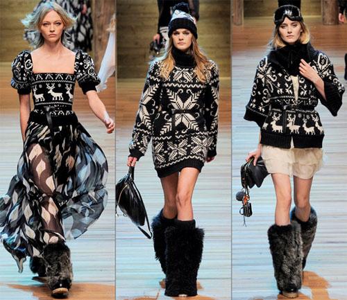 09DG - Колекция есен-зима 2010/11 на D&G Dolce & Gabbana