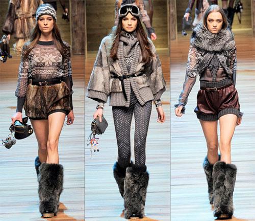 11DG - Колекция есен-зима 2010/11 на D&G Dolce & Gabbana
