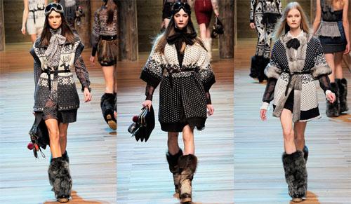 13DG - Колекция есен-зима 2010/11 на D&G Dolce & Gabbana