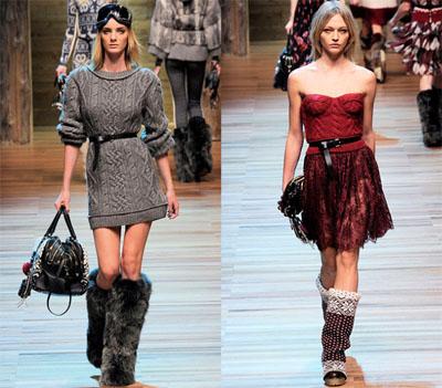 14DG - Колекция есен-зима 2010/11 на D&G Dolce & Gabbana