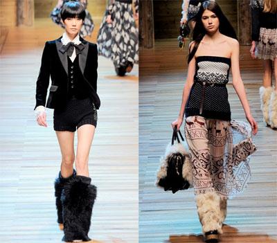 15DG - Колекция есен-зима 2010/11 на D&G Dolce & Gabbana