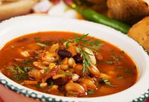 bob krastavichki 290x199 - Бобена супа с гъби и мариновани краставички
