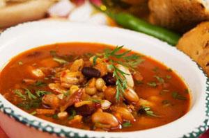 bob krastavichki - Бобена супа с гъби и мариновани краставички