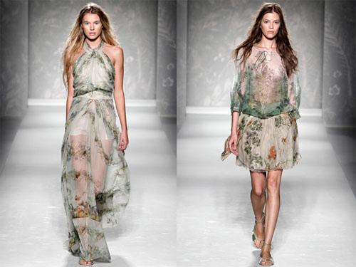 04Alberta Ferretti - Пролет-лято 2011: Принт на цветя