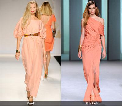 01Fendi Elie Saab - Пролет-лято 2011: Завръщане на розовия цвят