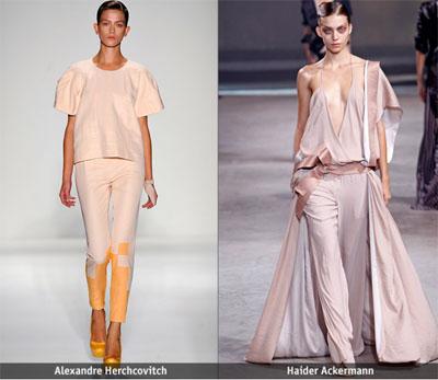 04Alexandre Herchcovitch Haider Ackermann - Пролет-лято 2011: Завръщане на розовия цвят