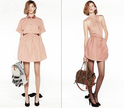 07Carven - Пролет-лято 2011: Завръщане на розовия цвят