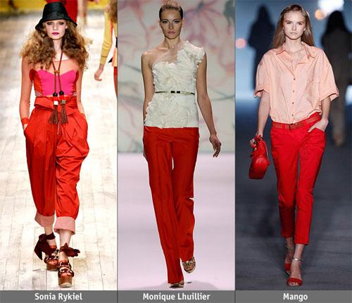 10ch - Пролет-лято 2011: Червено
