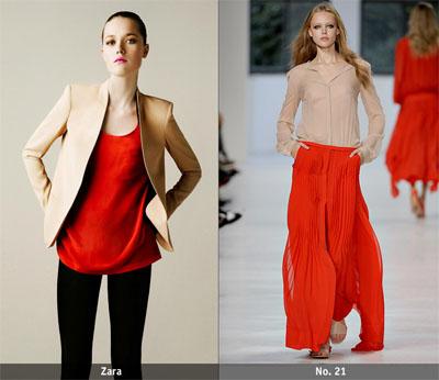 13ch - Пролет-лято 2011: Червено