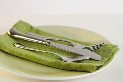 ost - Зелена салата със скариди и цитрусов дресинг