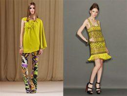 01Alberta Ferretti Marchesa 260x196 - Пролет-лято 2011: Жълто