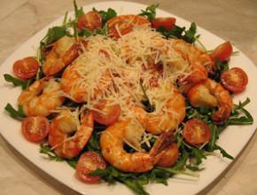 it salata skaridi 290x220 - Италианска салата със скариди