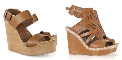 Пролет-лято 2011: Какви обувки да изберете за панталоните клош