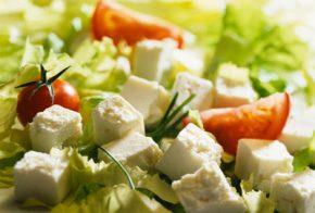 13 елемента за нискокалорична салата