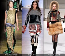 Есен-зима 2011/12: Основни тенденции, според Style.com