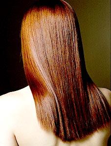 01mj - Маска за блестяща коса с желатин