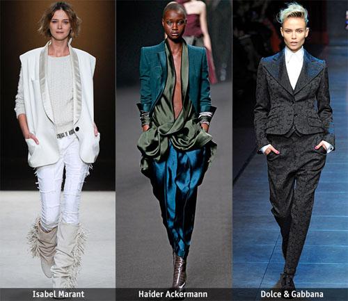 07Tux Love - Есен-зима 2011/12: Основни тенденции, според Style.com