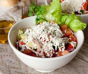 shopska salata - Шопска салата
