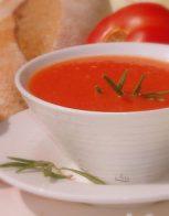 Есенна супа от пресни домати