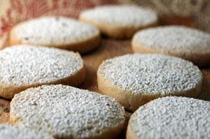 meksikanski biskviti - Мексикански бадемови бисквити