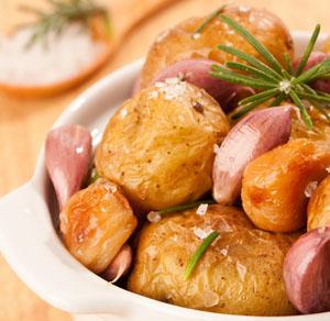 pecheni kartofi - Печени картофи