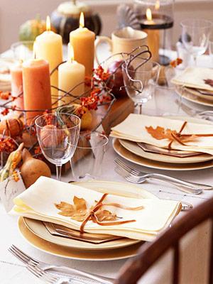 01em - Eсенни идеи за подредба на масата
