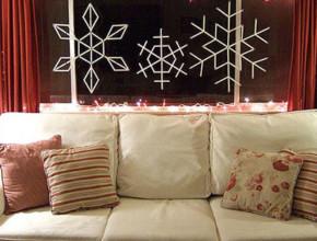 01s 290x220 - Празнична украса със снежинки
