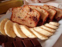 bananov keks 261x196 - Бананов кекс с шоколад