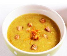 Грахова супа с хрупкав бекон