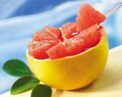 За грейпфрута...