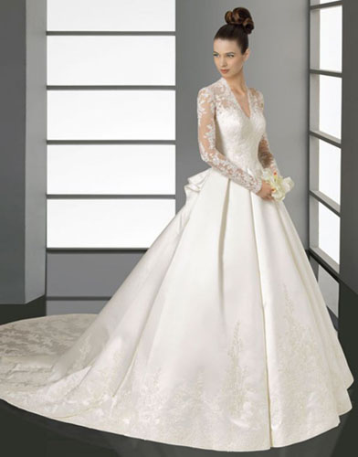 01Aire Barcelona - Сватбените рокли на 2012 година