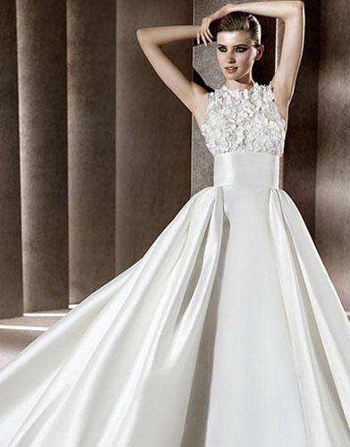 10Elie Saab - Сватбените рокли на 2012 година