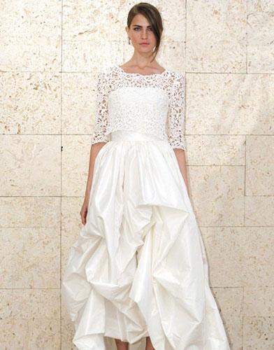 14Oscar de la Renta - Сватбените рокли на 2012 година