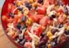 Салата с боб и домати