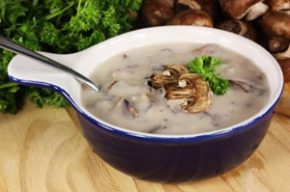 Гъбена супа с целина