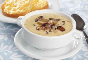 gabi krema sirene 290x199 - Гъбена супа с крем сирене
