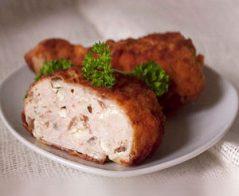 Пълнени пилешки бутчета с гъби